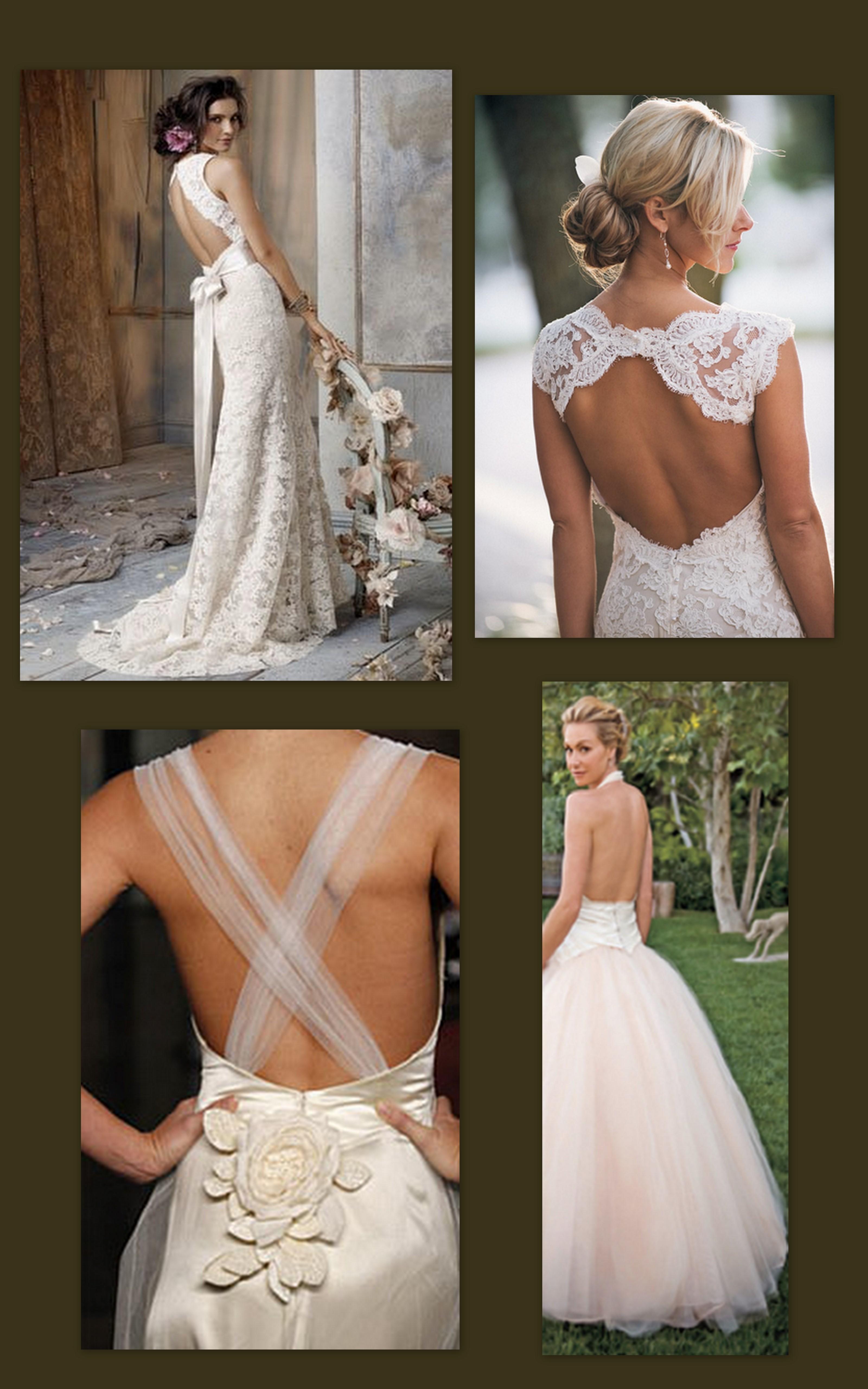 Backless Wedding Dress 2011