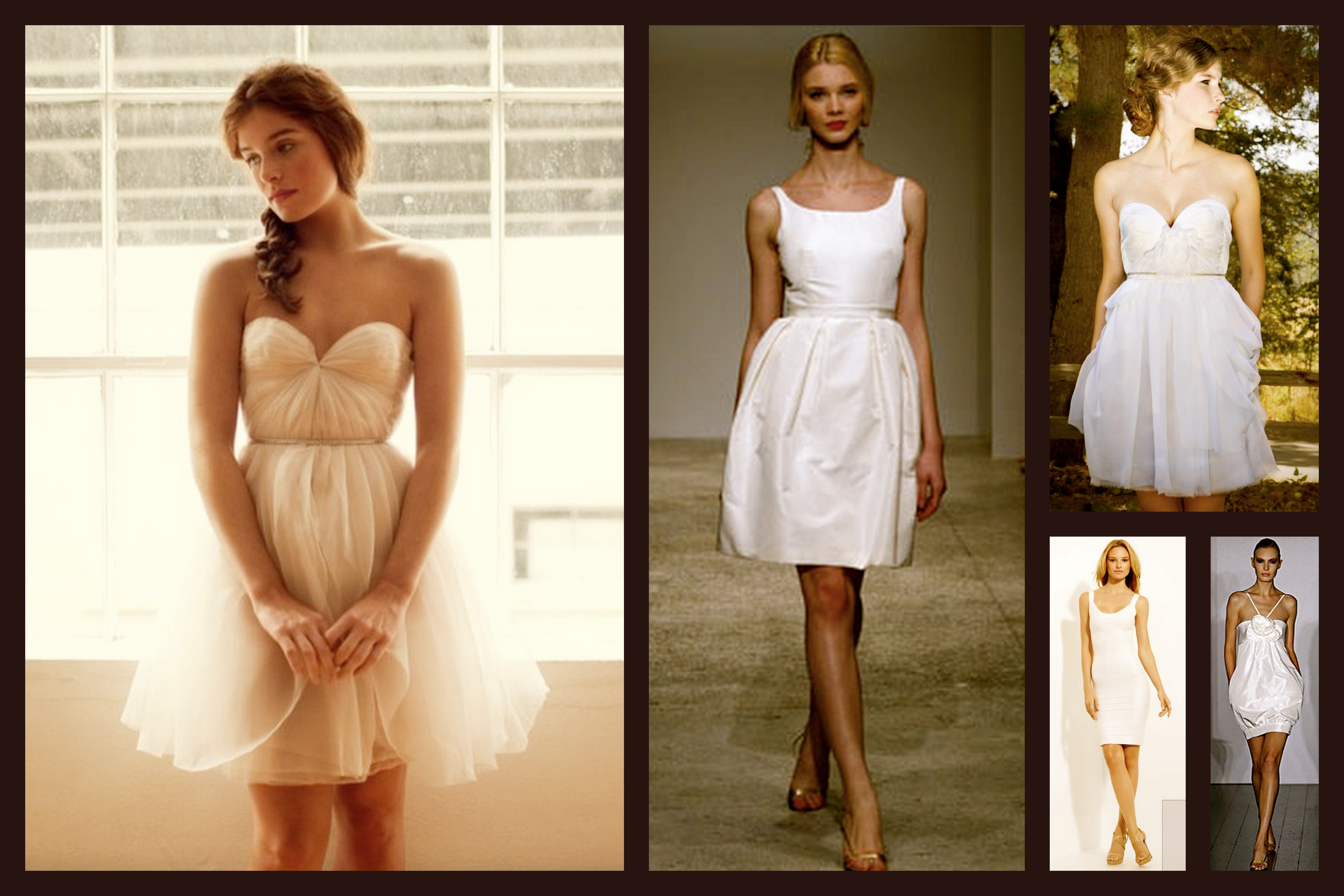 Chic White Dresses