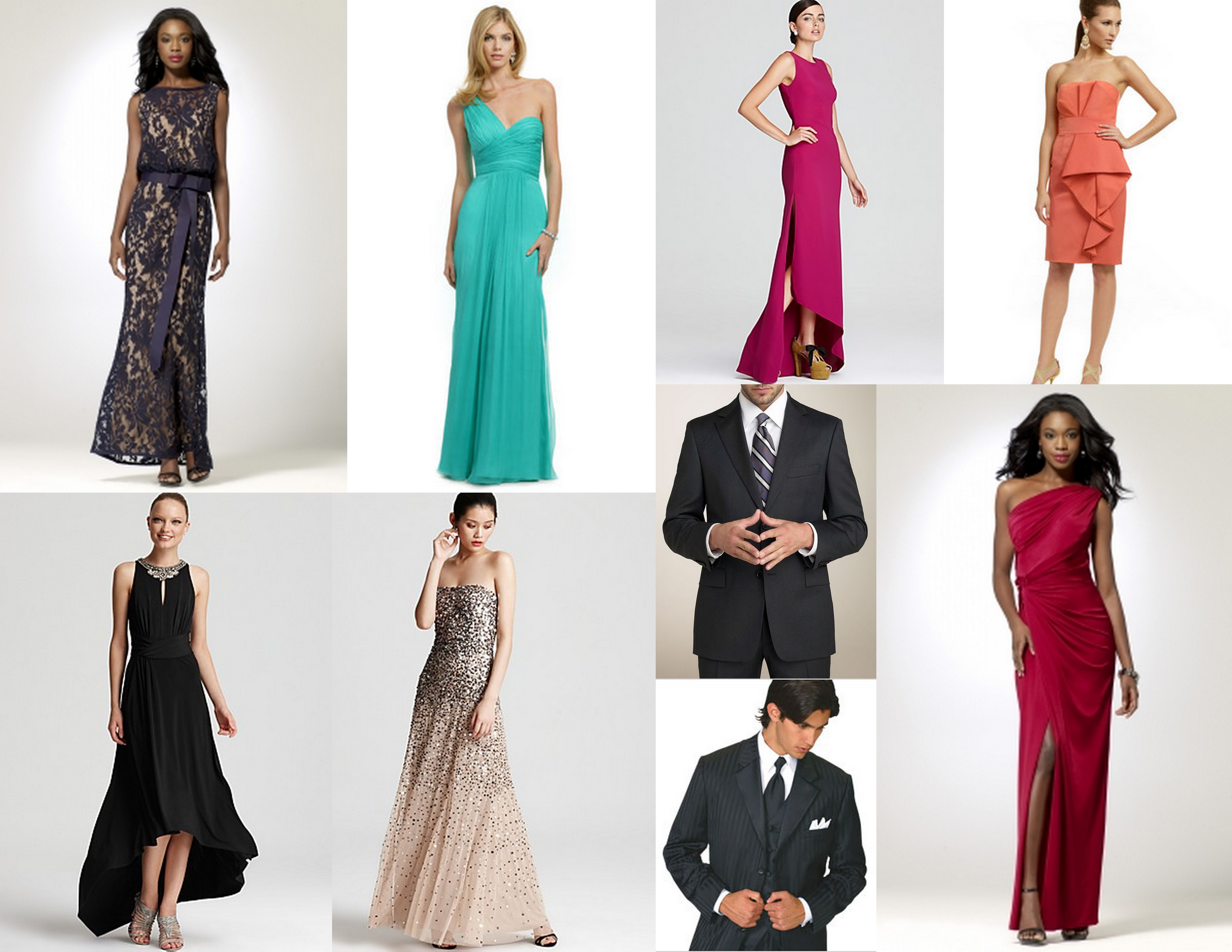 423b40bd14 What Kind Of Dress To Wear To A Black Tie Optional Wedding - Gomes ...